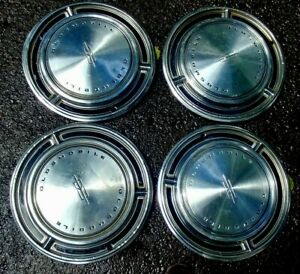 Oldsmobile Hubcaps Wheel Covers 15 Set 4 Oem Hub Caps Fits More Than 1