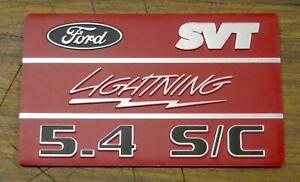 New 1999 2004 Ford Svt F150 Lightning 5 4l Supercharged Intake Plaques 4pcs