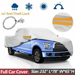 For 2011 17 Ford F 150 Truck Pickup Full Car Cover W Anti Theft Lock Waterproof