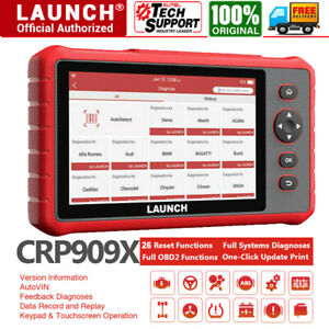 Launch X431 Crp909x Obd2 Scanner Full System Car Diagnostic Scanpad Scanner Tool