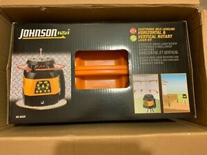 Johnson Level And Tool 40 6529 Electronic Self leveling Horizontal And Vertical