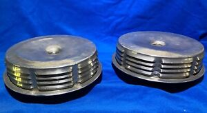 1957 Chevrolet Corvette 2x4 s Dual Quad Original Air Cleaners Pair Used