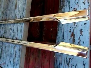 1956 Ford Fairlane Crown Victoria Right Side Fender Chrome Trim Molding