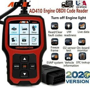 Ancel Ad410 Obd2 can Obdii Auto Vehicle Diagnostic Car Code Reader Scanner Tool