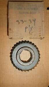 Nors 1933 34 Plymouth 6 Cylinder Low Reverse 3 Speed Transmission Gear 601793
