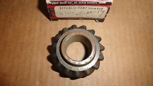 1937 57 Chrysler Dodge Desoto Plymouth Reverse Idler 3 Speed Transmission Gear