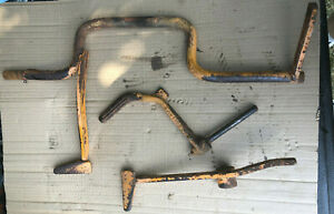 Allis Chalmers B Tractor Clutch foot Brake Assembly Brake Pedals Ac C Pre owned