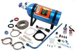 Nos 05162nos Gm Ls Wet Nitrous Kit System For 105 Mm 4 bolt Flange With Cable