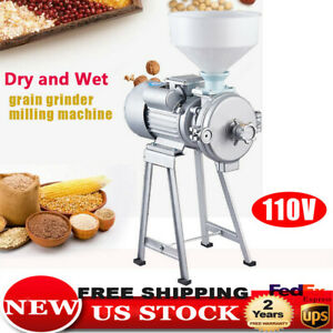 Universal Grinder Wet And Dry Cereals Mill Grinding Machine Soymilk Rice Grinder