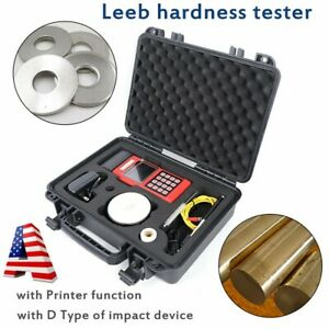 Xh300s Leeb Hardness Tester Alloy Metal Steel Durometer With Printer Function