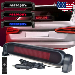 12v Car Led Sign Remote Programmable Scrolling Message Display Screen Board K8d4