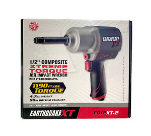 Earthquake Xt 1 2 Air Impact Wrench Eq12 Xt Brand New Sealed Free Shipping