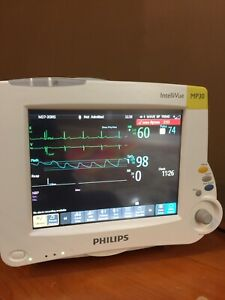 Philips Mp30 Intellivue Color Patient Monitor Tested Sw Rev L No Module