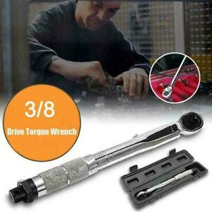 1 2 Torque Wrench Snap 3 8 Socket Drive Click Type Ratcheting Pro Reversi A9d8