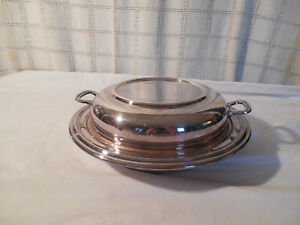 Sheffield Silver Covered Casserole Veg Dish Bowl Epc Usa Made