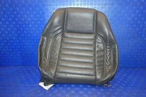 2013 2014 Ford Mustang Coupe Front Right Passenger Upper Seat Cover Leather Oem