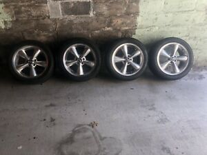 2005 2020 Ford Mustang Oem 18 Rims And Tires With Tpms 2011 Mustang Gt Wheels