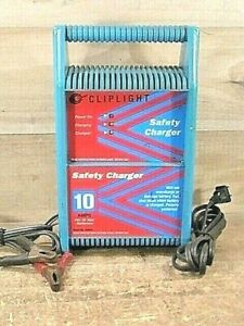 Pre Owned Tested Cliplight 910120 10 Amp 12v Safety Battery Charger