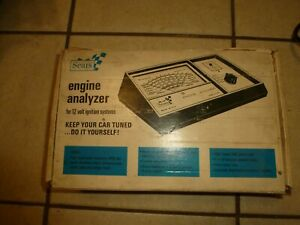 Vintage Sears Engine Analyzer 28 2161 For 12 Volt Ignition Systems Used