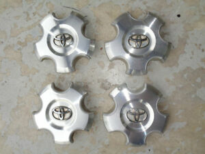 4 Toyota Tundra Sequoia 18 Aluminum Wheel Center Caps Set 2007 2012
