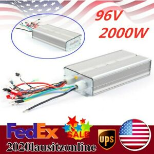 96v 2000w Three speed Anti theft Motor Controller For Electric Bicycle