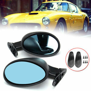 California Classic Side View Door Mirrors Universal Car Truck 1 Pair