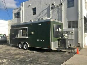 Well equipped 2014 Mobile Kitchen Loaded Food Concession Trailer For Sale In F