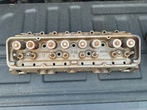 Matching Pair 1956 1957 Chevy Corvette Power Pack 265 Cylinder Heads 3725306