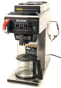 Bunn 12950 0213 Cwtf15 3 Automatic 3 9 Gallons Per Hour Coffee Brewer 120v