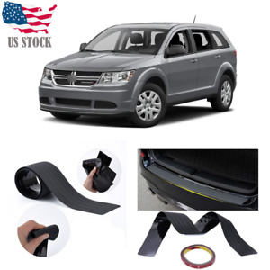 For Dodge Journey 2009 20 Car Door Sill Bumper Guard Protector Trim Cover Black