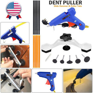 Paintless Dent Removal Tools Dent Puller Hail Removal Glue Gun Slide Hammer Kits