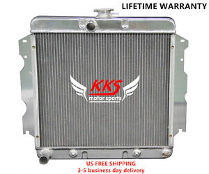 Polished Kks Radiator Fit Plymouth 63 67 Belvedere Fury 1965 67 Satellite 3 Rows
