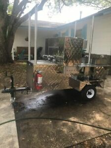 Super Neat 2019 4 X 8 Street Food And Hot Dog Vending Cart For Sale In Florida