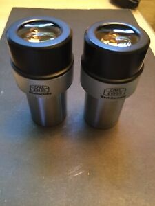 One Pair Zeiss Microscope Eyepiece Kpl w 12 5x High Point W Glasses