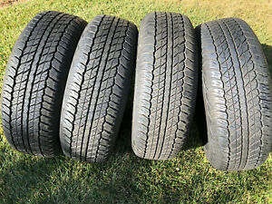 4 Dunlop Grandtrek At20 265 70r17 113s All Season Dealer Take Off New Tires