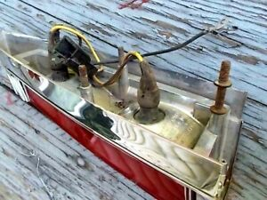 Vintage 1977 Cadillac Deville Tail Lamp Light Assembly 5968550