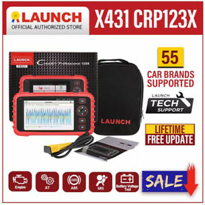 Launch Crp123x Obd2 Scanner Car Engine Abs Srs Transmission Diagnostic Scan Tool