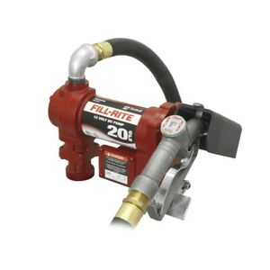 Tuthill fill rite Fr4210g 20 Gpm 12v Dc High flow Fuel Transfer Pump New