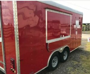 2016 8 5 X 16 Cargo Craft Expedition Food Concession Trailer Mobile Kitchen