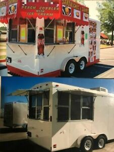2010 Cargo Mate 7 X 16 Street Food Concession Trailer For Sale In Georgia