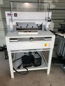 2018 Triumph 5255 20 3 8 Electric Programmable Paper Cutter 3768