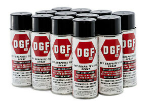 Dgf dry Graphite Film Spray Anticorrosive Lubricant 12 pack