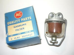 1961 1962 Buick Special W A C Fuel Filter Nos 5650427