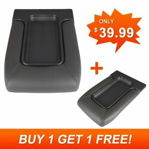 Center Console Cover For 99 07 Chevy Silverado Yukon 19127364 Lid Armrest Latch