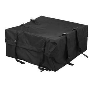 Car Suv Roof Cargo Carrier Bag Luggage Storage Travel Waterproof For Jeep