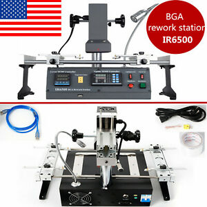Ir6500 Ir Bga Rework Station Soldering System Infrared Reball Machine Pc Repair