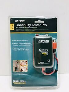 Continuity Tester 9v 9 In Test Leads Ct20