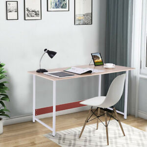 Computer Table Modern Desk Home Office Study Workstation Writing Furniture Us