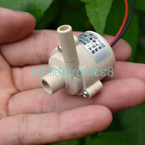 Mini Dc 12v Mute Brushless Water Pump Submersible Impeller Centrifugal Pump C