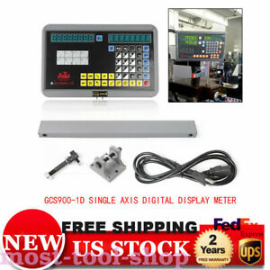 1 Axis Dro Kit Digital Readout Display For Milling Lathe Machine Linear Scales